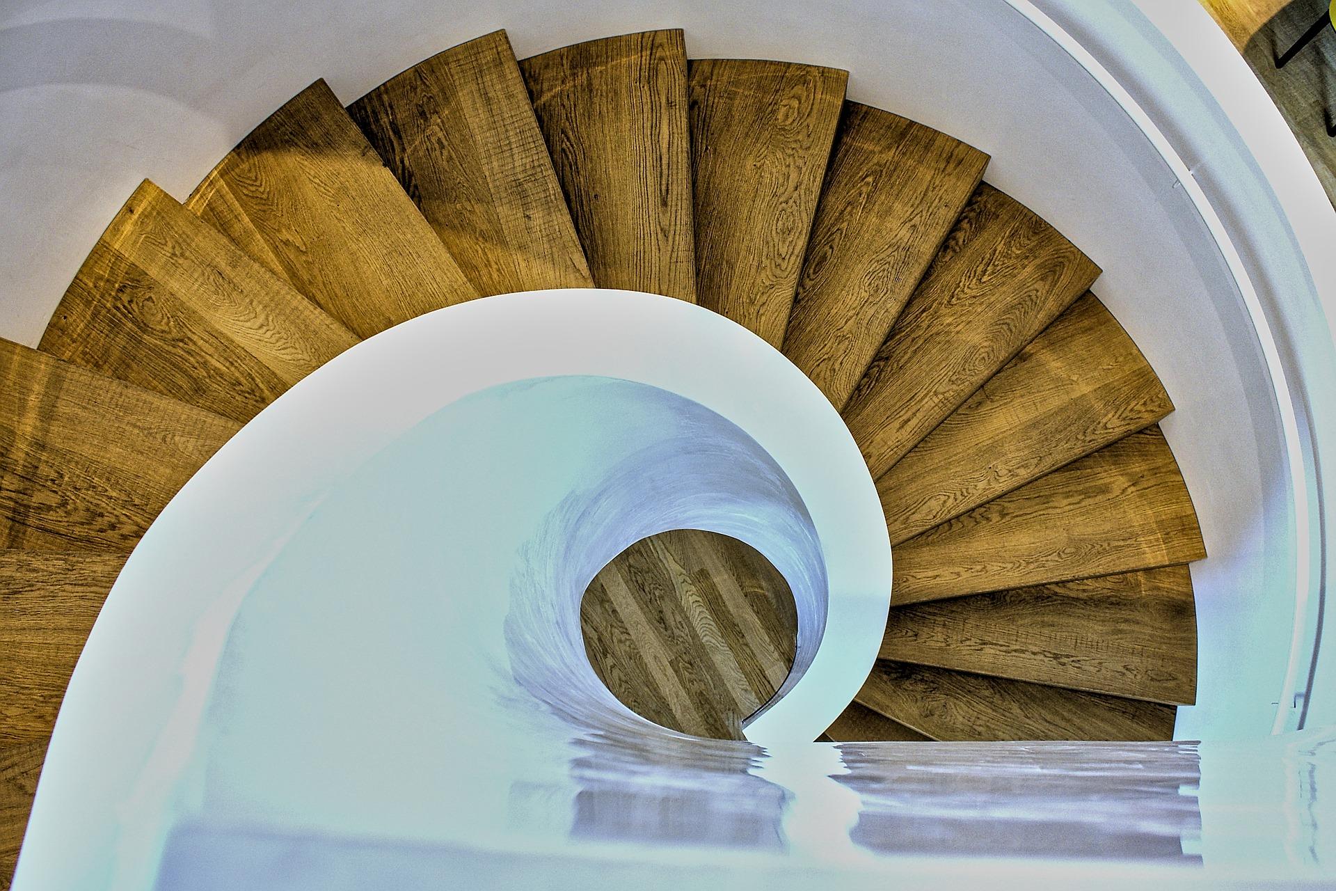 L'avantage d'un bel escalier en bois
