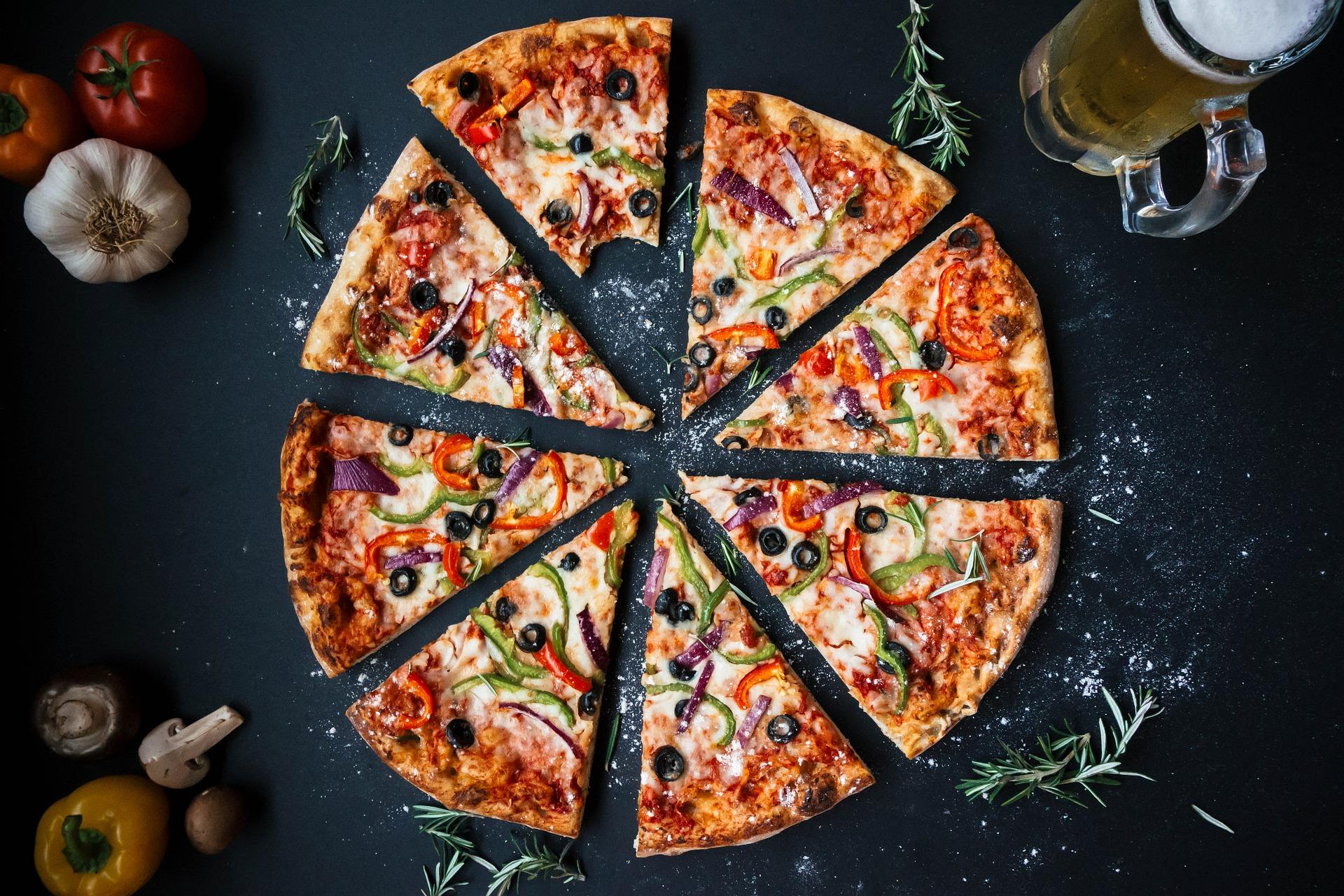 Pour votre soirée, choisissez une pizza à emporter !