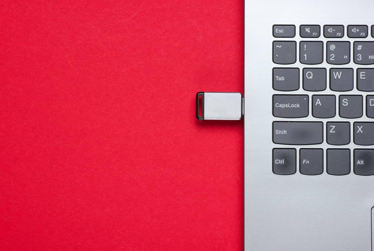 clé USB ordinateur informatique